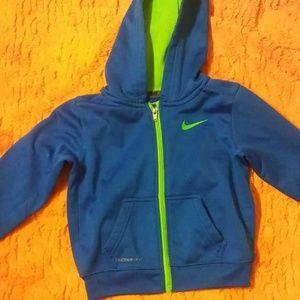 3t boys Nike zip up jacket